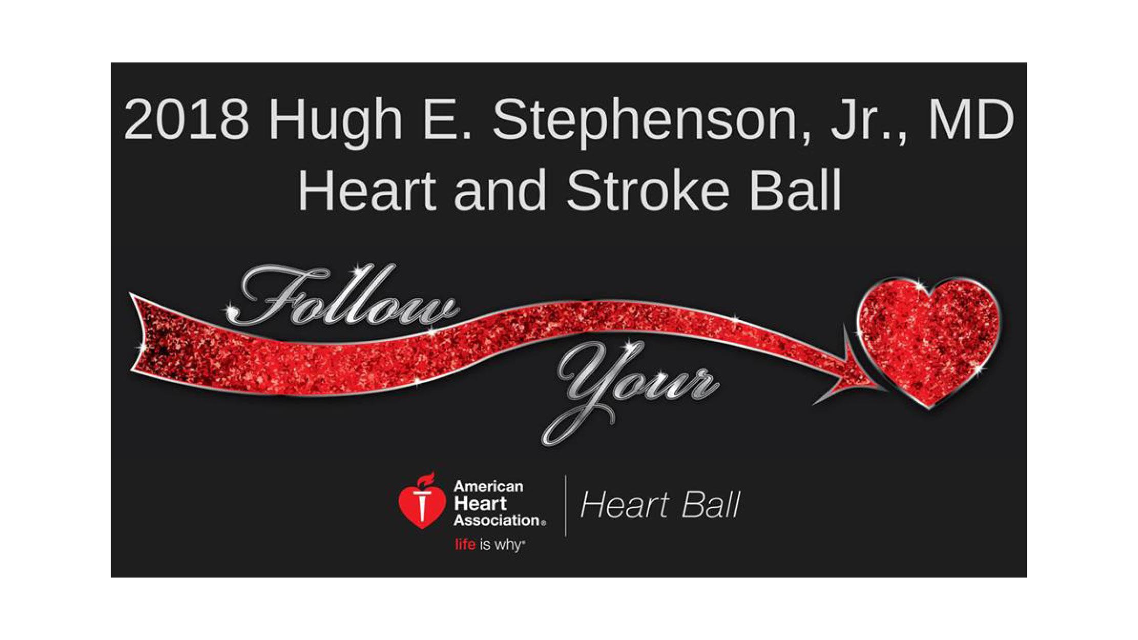 The Village of Bedford Walk Sponsors the Hugh E. Stephenson, Jr. Heart & Stroke Ball